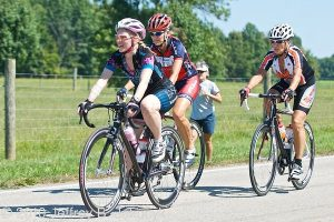 Coach O'B client Blair Barter during the Ohio State Masters Cycling Road Race Championships